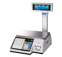 Весы с печатью этикетки CAS CL-3000-15P
