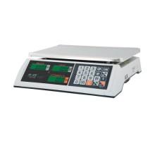 Весы торговые M-ER 327AC с АКБ (без стойки) LCD